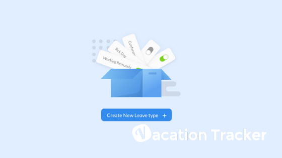 Creating Leave Types on Vacation Tracker