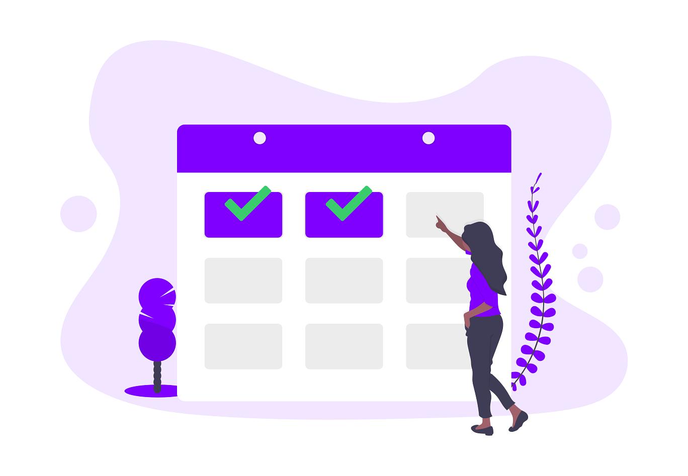 booking time off calendar