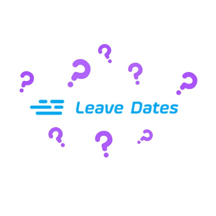 Leave Dates Alternative