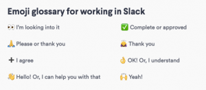 Slack Communication Glossary