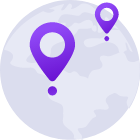 vacation tracker multiple locations
